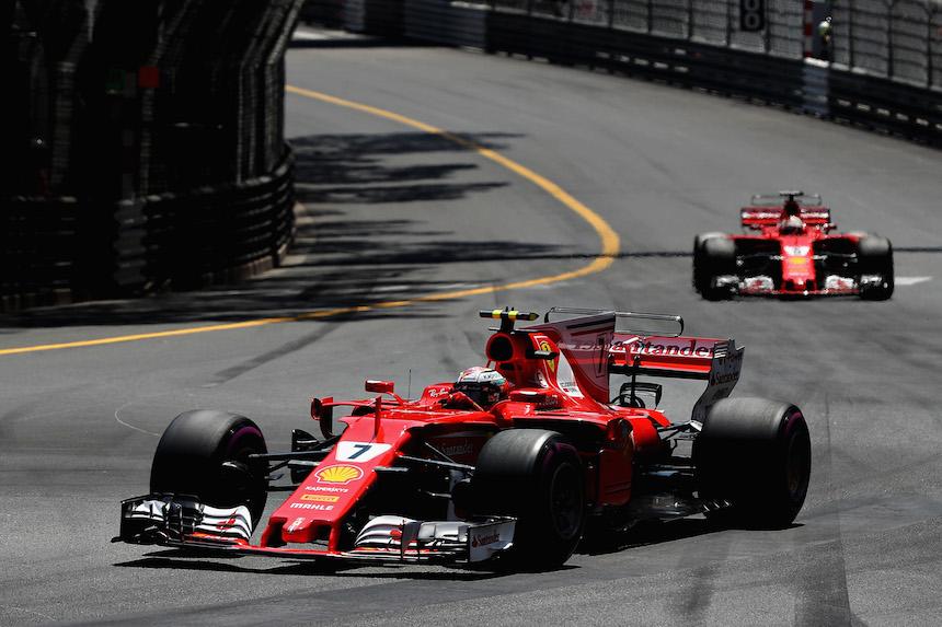 Ferrari en el Gran Premio de Mónaco