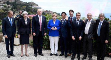 Primer día de la cumbre del G7: sólo logran acuerdos para combatir el terrorismo