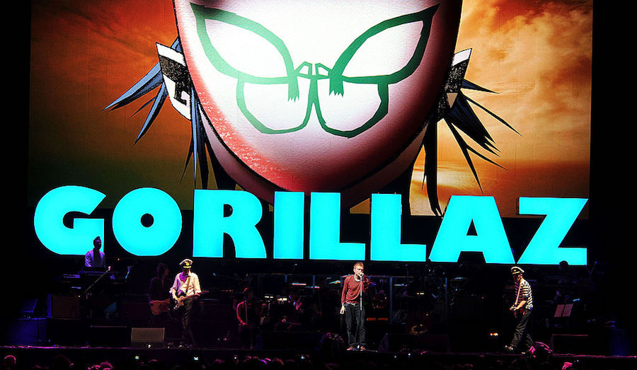 Gorillaz Austin City Limits