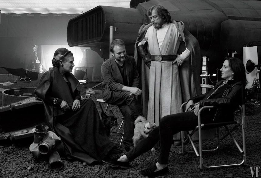 The Last Jedi - Protagonistas