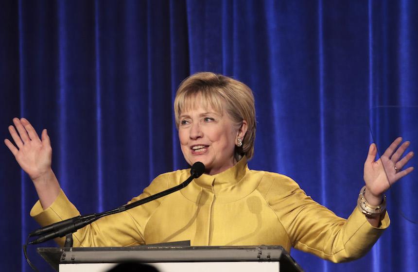 Hillary Clinton , excandidata a la presidencia de Estados Unidos