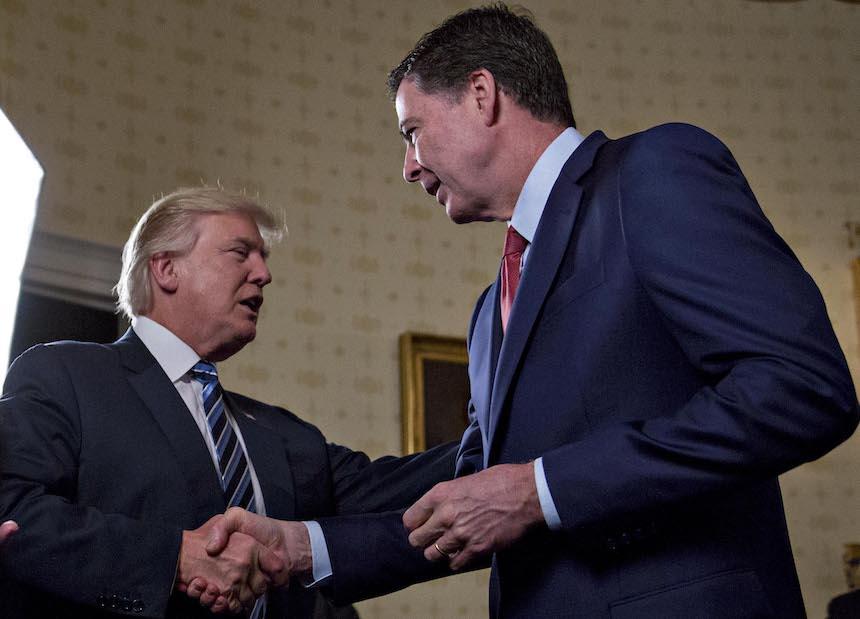 El testimonio de Comey ataca la credibilidad de Trump