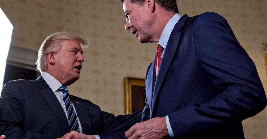 James Comey, director del FBI, fue despedido por el presidente Donald Trump