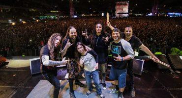 Robert Trujillo y su hijo tocaron juntos en un show de Korn