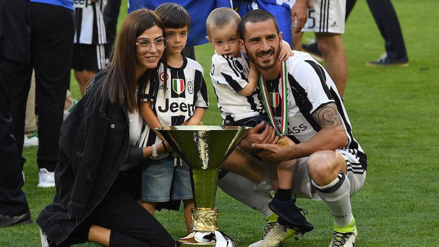 El hijo de Leonardo Bonucci lo cambia por Andrea Belotti