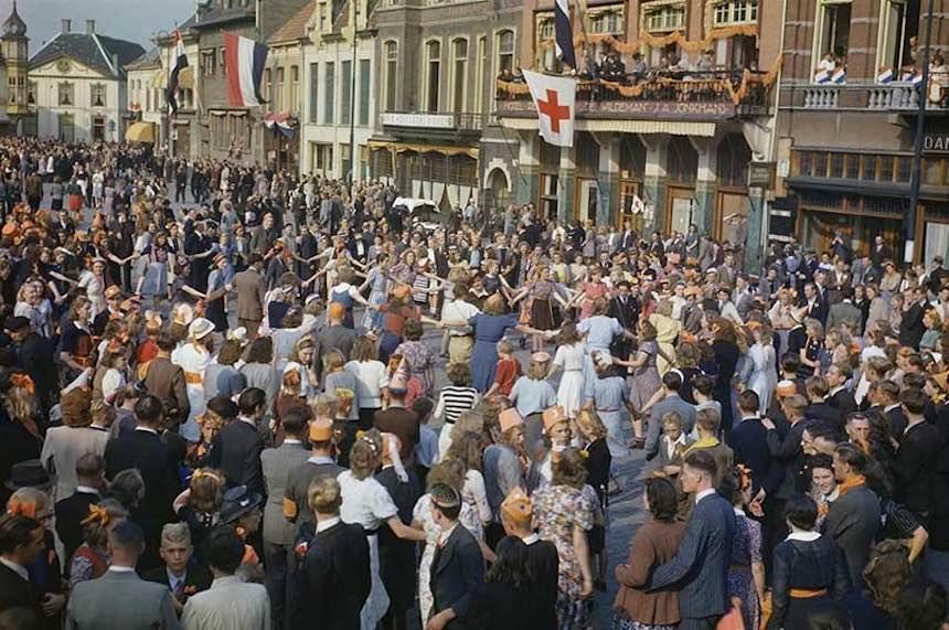 Segunda Guerra Mundial - Liberación de Holanda