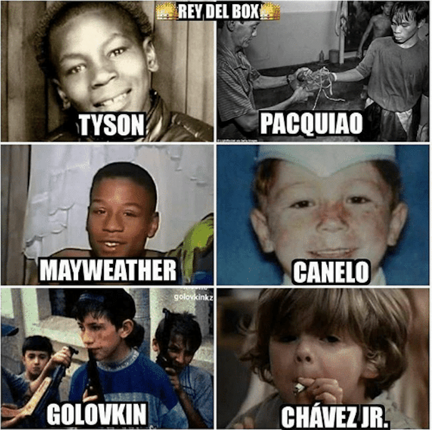 Meme Canelo vs Chávez Jr