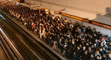 Caos en la línea naranja del metro, ahora por falta de conductores
