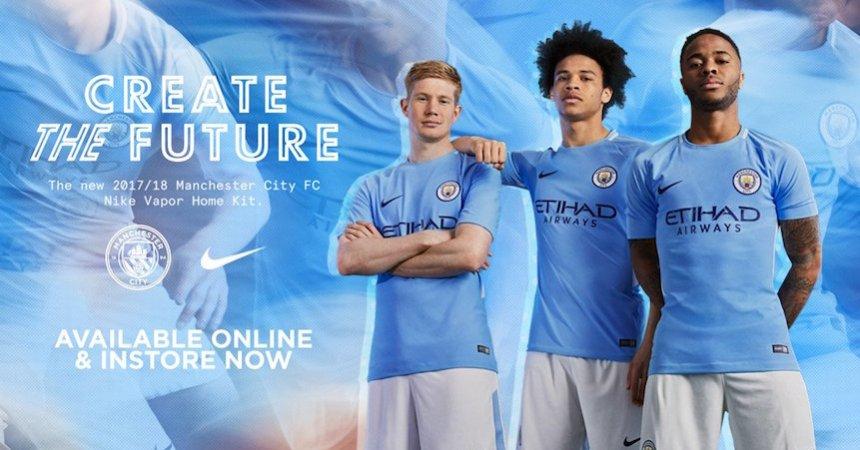 Nuevo Uniforme del Manchester City