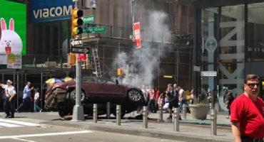 Nueva York: conductor atropella con su auto a varias personas en Times Square