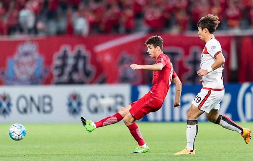 Oscar en la Superliga China