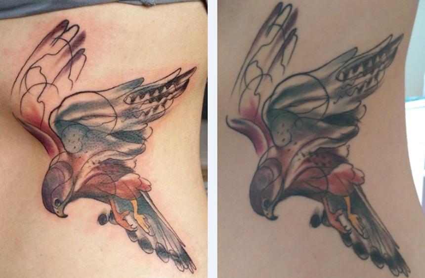 Tatuajes - Pájaro