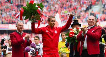 El Bayern Munich le hace un homenaje a Philipp Lahm en su despedida