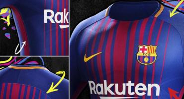 Oficialmente éste es el nuevo uniforme del Barcelona