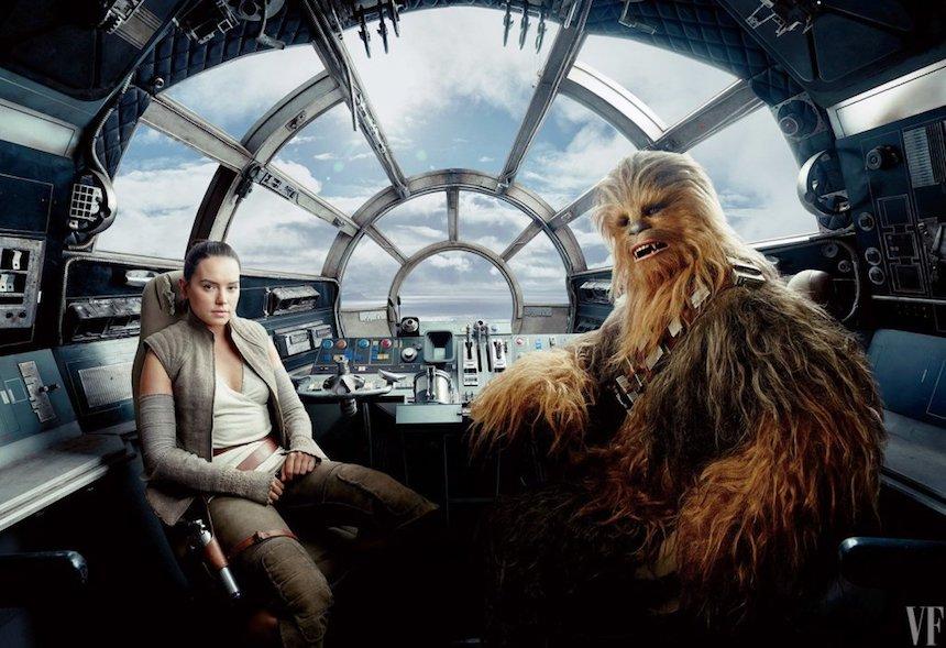 The Last Jedi - Chewbacca y Rey