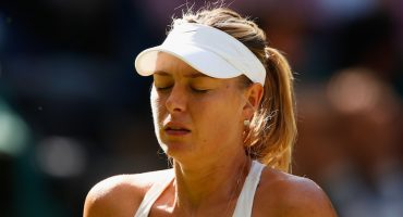 Video: María Sharapova abandona un partido llorando