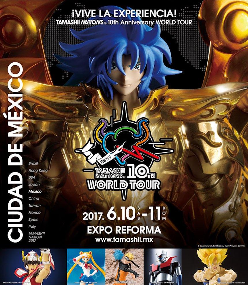 Tamashii Nations World Tour 2017 México