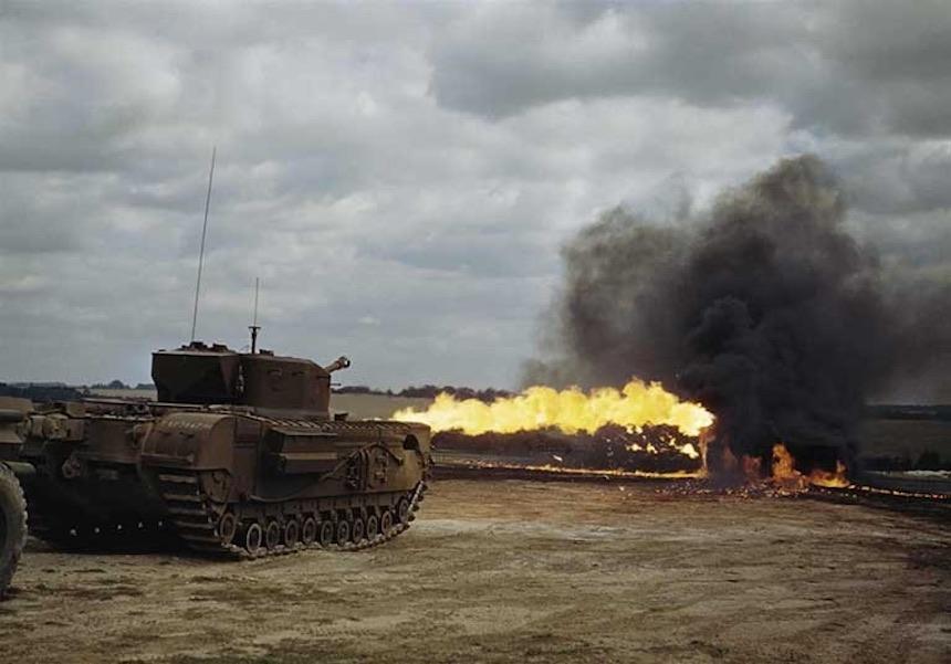 Segunda Guerra Mundial - Tanque de infantería