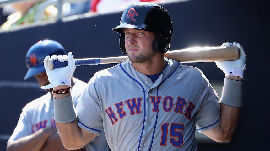 Los NY Mets no quieren subir a Tim Tebow al primer equipo