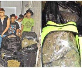 Encuentran mochilas de Ubereats con droga