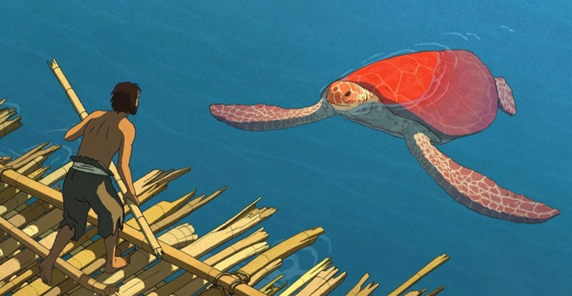 Resultado de imagen de La tortuga roja