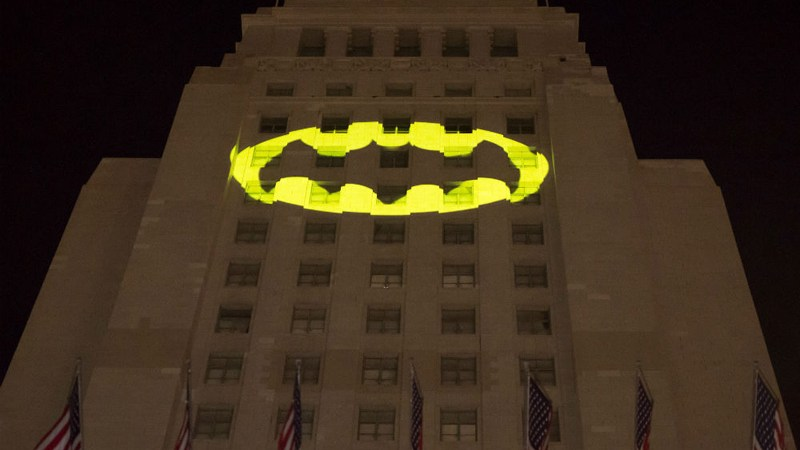 Homenaje a Batman en Los Angeles