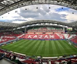 Kazan Arena en Rusia