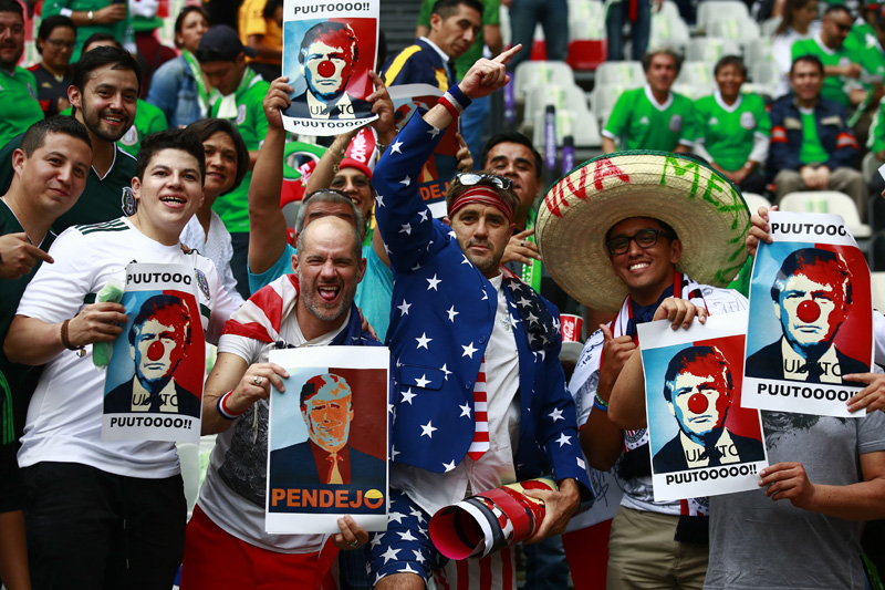 México vs USA en el Estadio Azteca