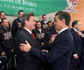 Carlos Peralta Quintero y EPN