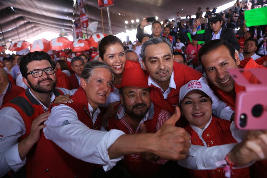 Alfredo del Mazo, candidato del PRI a la gubernatura del Estado de México