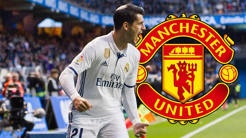 Álvaro Morata al Manchester United