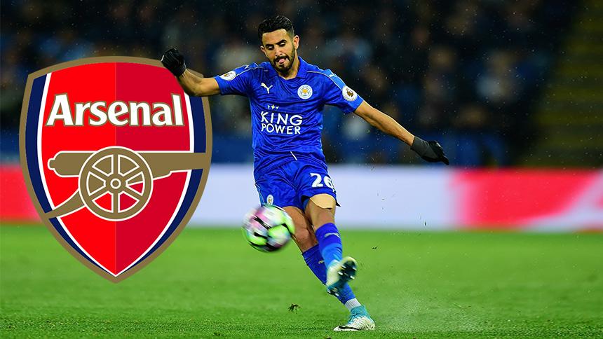 Riyad Mahrez al Arsenal