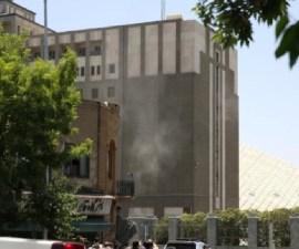 Atentado en Parlamento iraní