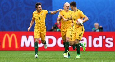 Australia fue dominado pero alcanzó a sacarle el empate a Camerún