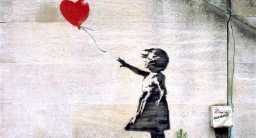 ¿Torta y chesco? Pffff... Banksy regalaba impresiones a quien votara contra conservadores