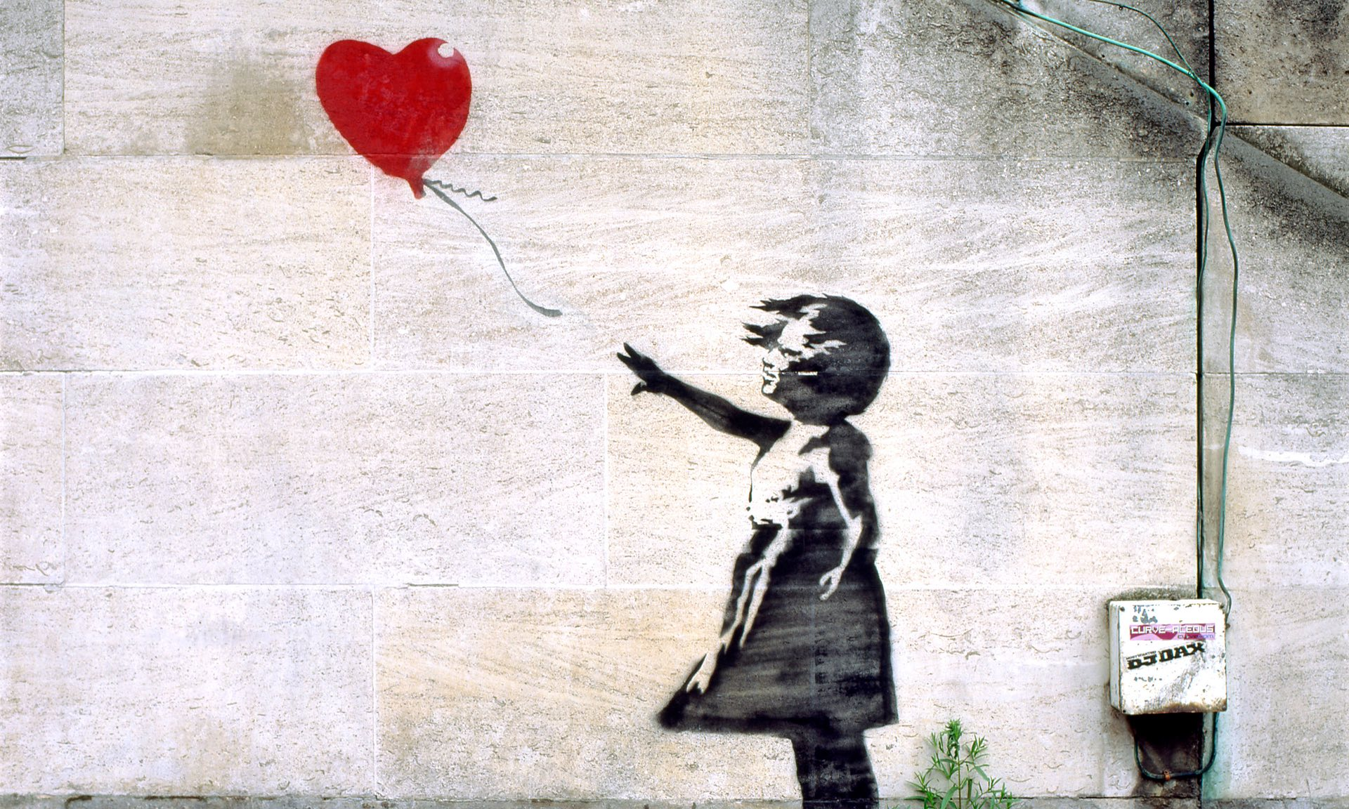 """Girls with Ballon"", Banksy"