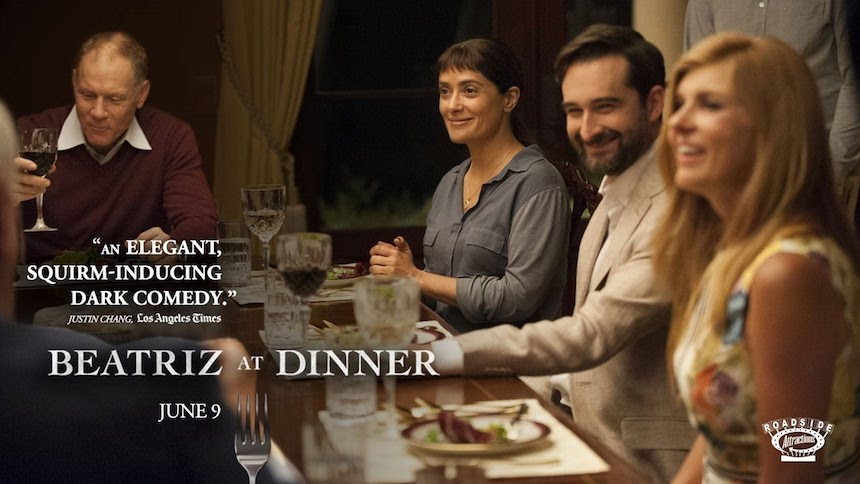 Beatriz at Dinner - Póster con Salma Hayek