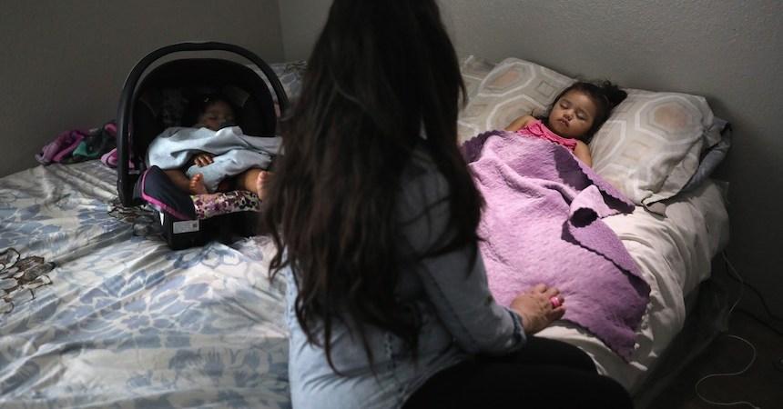 Bebés mexicanos durmiendo