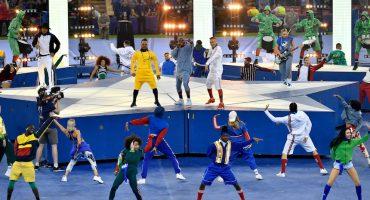 Decepcionante espectáculo de los Black Eyed Peas en la Final de la Champions