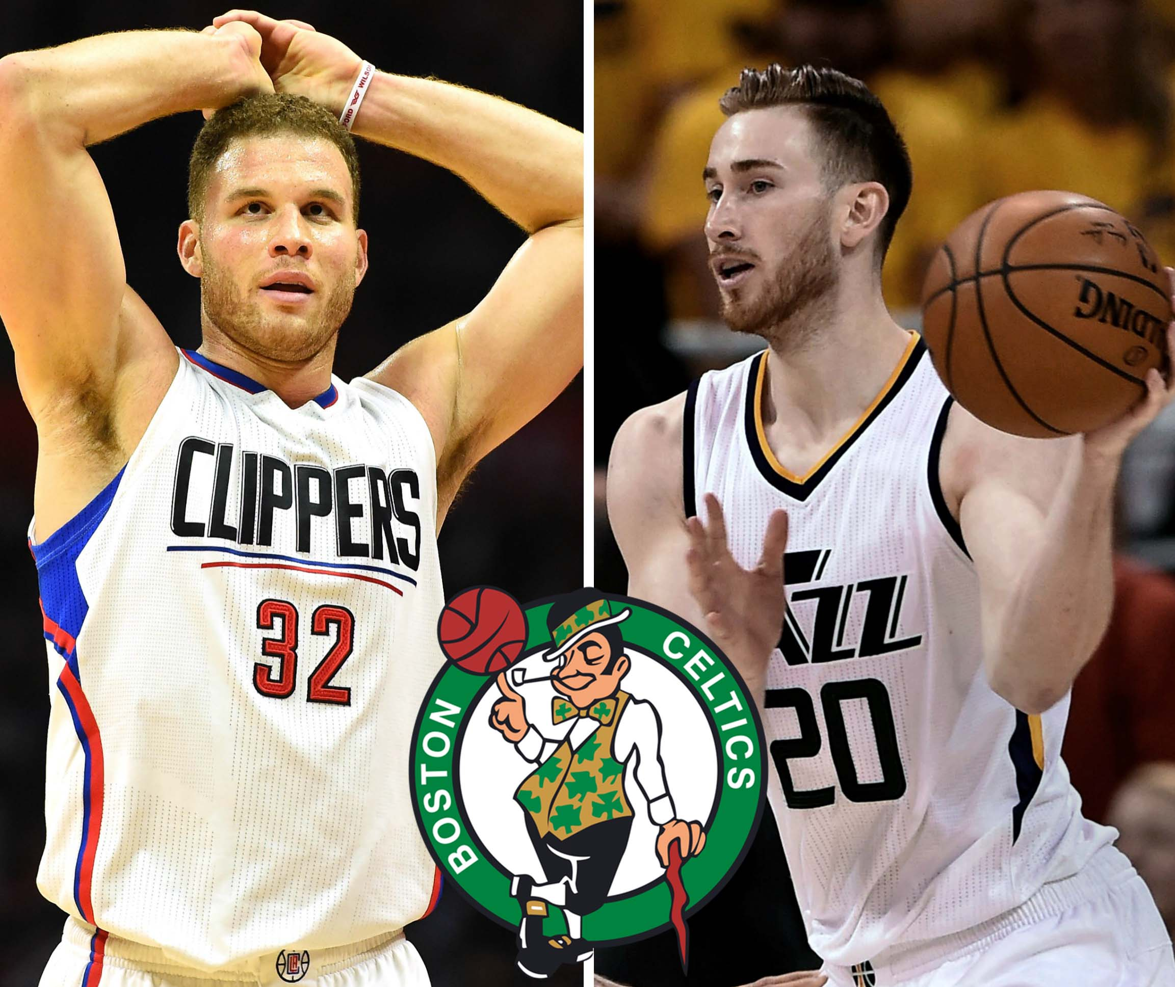 Blake Griffin y Gordon Hayward
