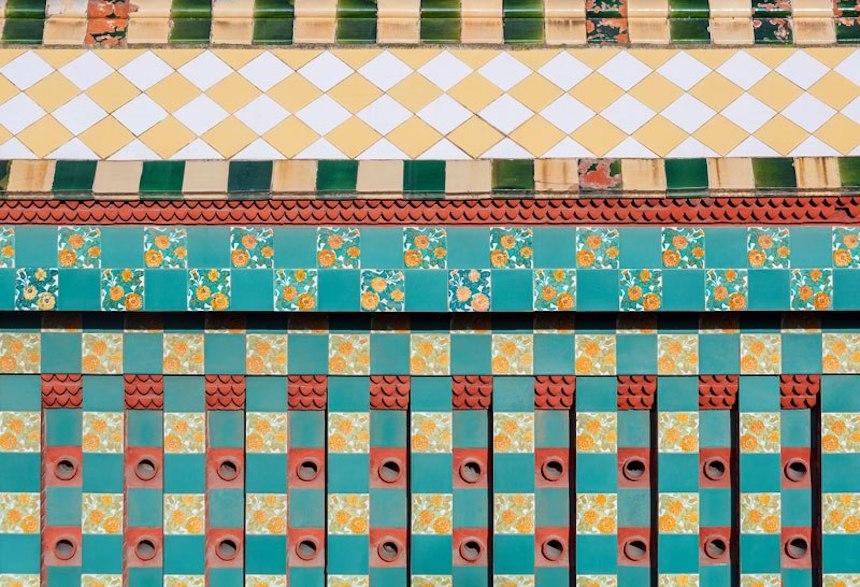 Casa de Antonio Gaudí - Azulejos