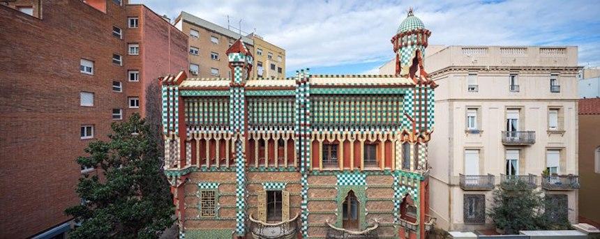 Casa de Antonio Gaudí - Vista exterior