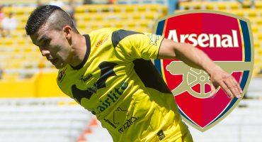 Hasta el Arsenal se unió a la iniciativa en favor del 'Cheque' Orozco