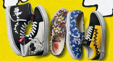 ¿Eres fan de Snoopy y Charlie Brown? ¡Mira esta colección de zapatos!