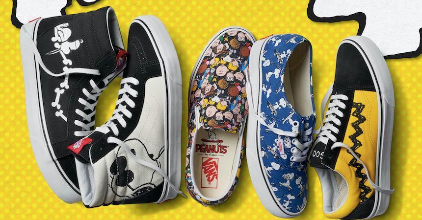 Colección de Vans - Charlie Brown y Snoopy