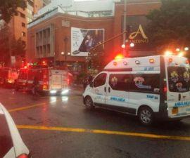 Centro comercial en donde ocurrió la explosión en Bogotá