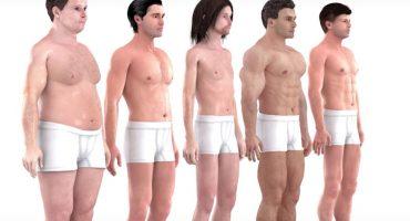Así ha cambiado el ideal del cuerpo masculino en 150 años