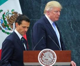 Donald Trump y Enrique Peña Nieto se verán las caras en cumbre del G-20