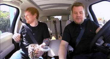 Carpool Karaoke: Ed Sheeran golpeó a Justin Bieber en una fiesta salvaje