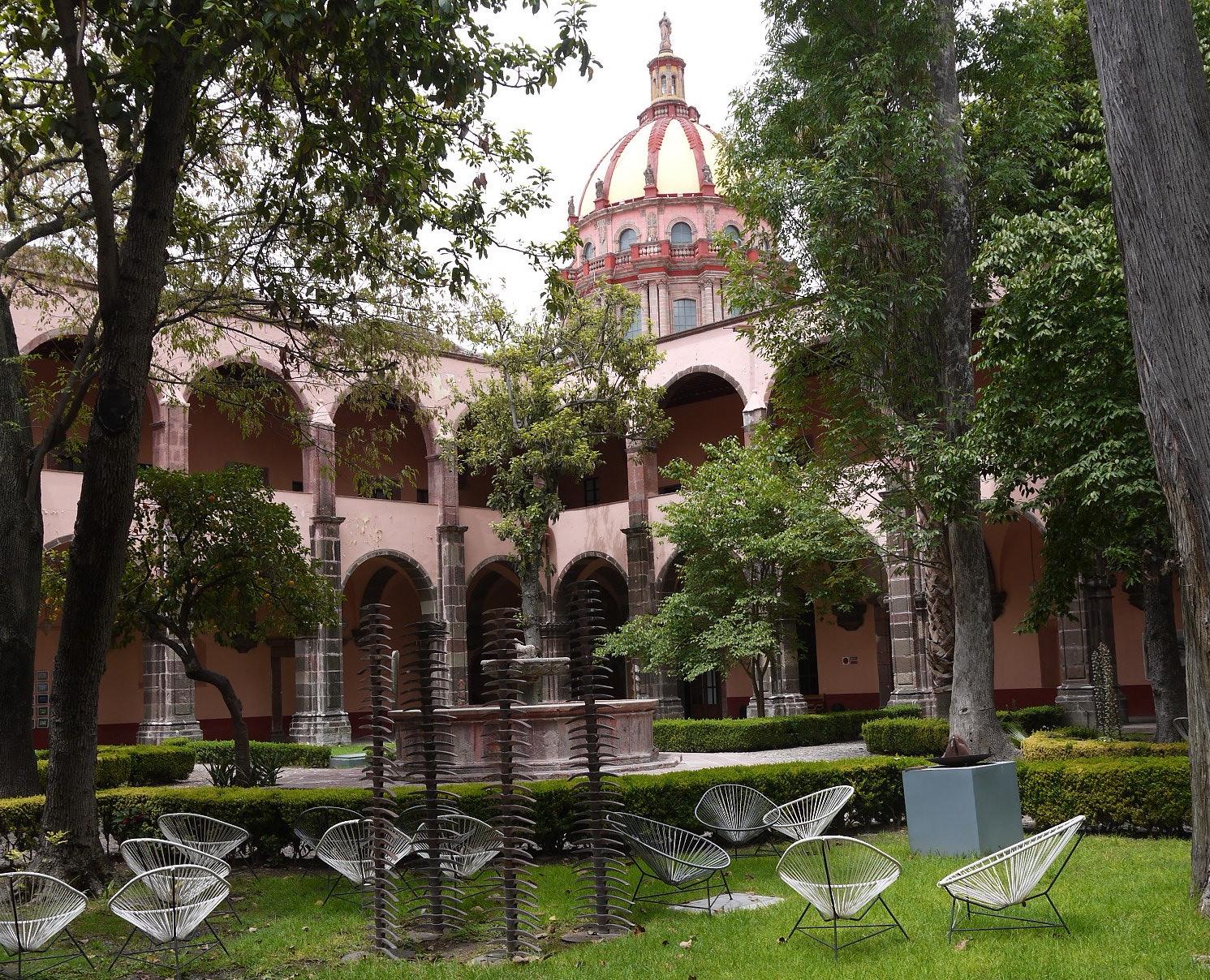 El Nigromante, la escuela de artes en San Miguel de Allende